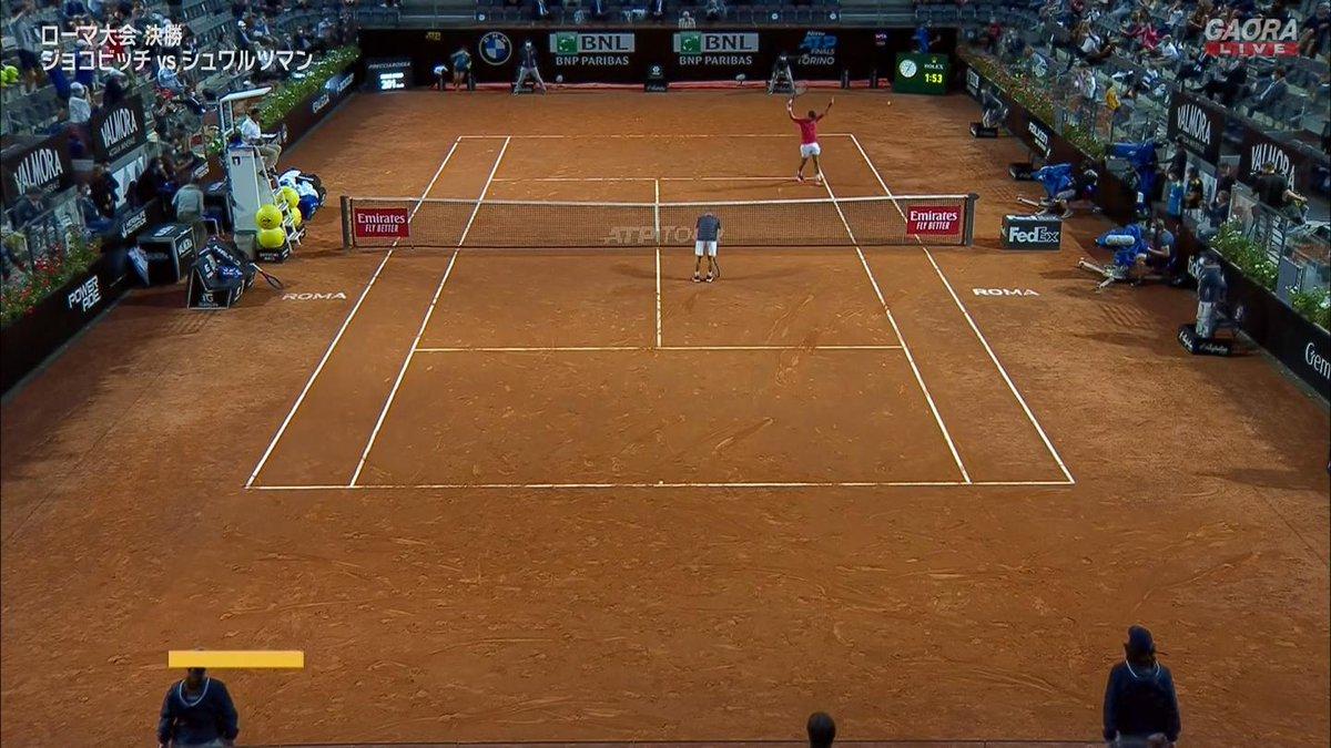 ジョコビッチ 75 63 セットカウント2-0 ストレートで優勝 5年ぶり  マスターズ36回目の優勝  🇷🇸ジョコビッチ vs シュワルツマン🇦🇷 BNLイタリア国際 ATP Masters 1000 決勝🎾 https://t.co/WnmdV7oxKL
