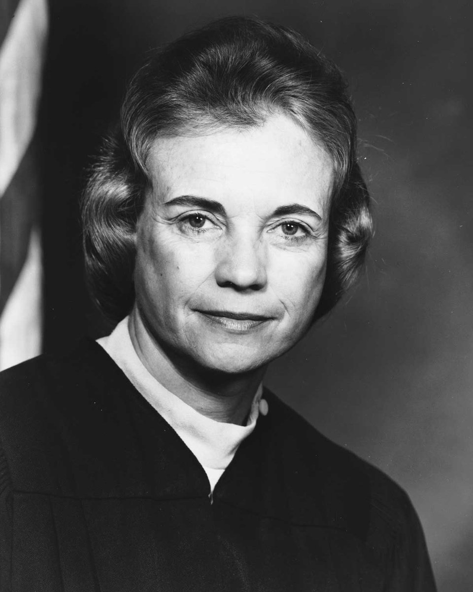 Sandra Day OConnor was confirmed by the Senate on September 21, 1981 - the first female Supreme Court Justice. #ThisDayInHistory (Photo: @librarycongress)