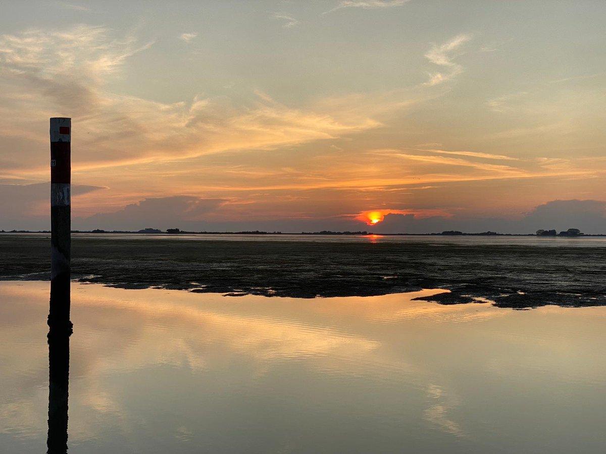 .@welcomet0nature -  #isola di #GRADO #island -   #Buonasera #GoodEvening #GutenAbend #BuenaTarde -   La #laguna al #tramonto by @cester_enrico - #lagoon #sunset -   @abollis @azzur_farfalla @mariacr28250504 @giorgiobigi1 @FlipRuth @CiriSince1978 @LaConsiglieria @marina52182 https://t.co/7MsNk0kcuy