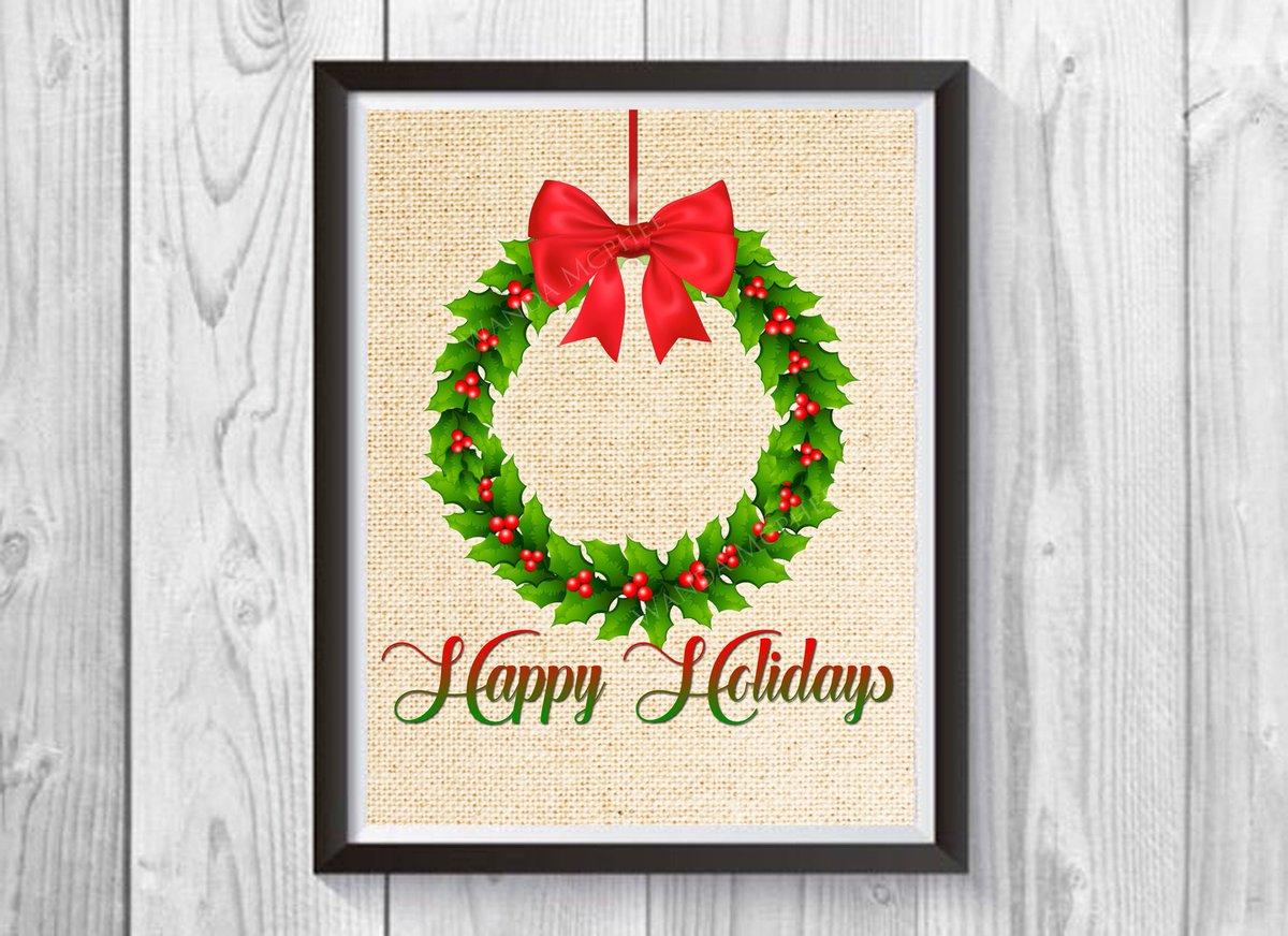 Happy Holidays Print, , Holiday Art Print, Christmas Art Print, Religious Gifts, Bible, Christian Wall Art, Christmas Wall Art https://t.co/vZuDzWQKmd #Etsy #truebluedesignco #ChristmasDecor https://t.co/f8SkrSTbjc