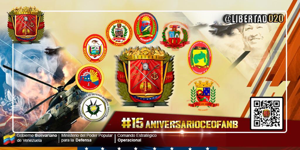 #15AniversarioCEOFANB Seguimos firmes al legado de nuestro Cmdte Supremo Hugo Chávez, dispuestos al combate para erradicar cualquier amenaza, es nuestra misión y en estos 15 años lo estamos logrando.  !Independencia o Nada!🇻🇪 #ZodiZuliaalCombate https://t.co/9B7oJN63sO