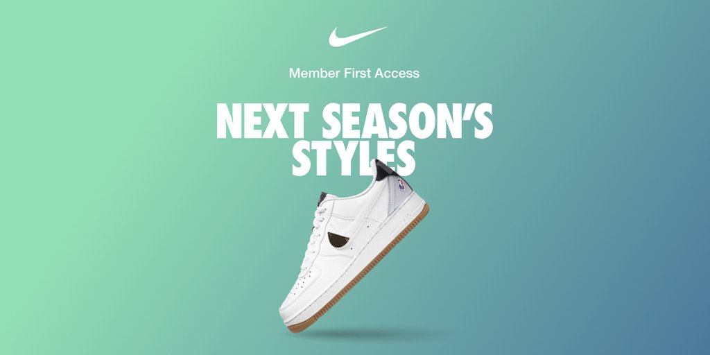 Only in the Nike App—get first access to hundreds of new styles before anyone else.   Download/Shop now.  https://t.co/AsGnUJ8lcF https://t.co/mBZaPxvkA1