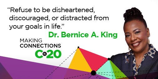 What are you doing to pursue your goals? Hear @BerniceKing's stories about real transformation and change at #WFGC20, September 25-26. Registration closes this Thursday, September 24, at 11:59pm (PT). https://t.co/X1x0suSv9U https://t.co/RDCIobaCLg