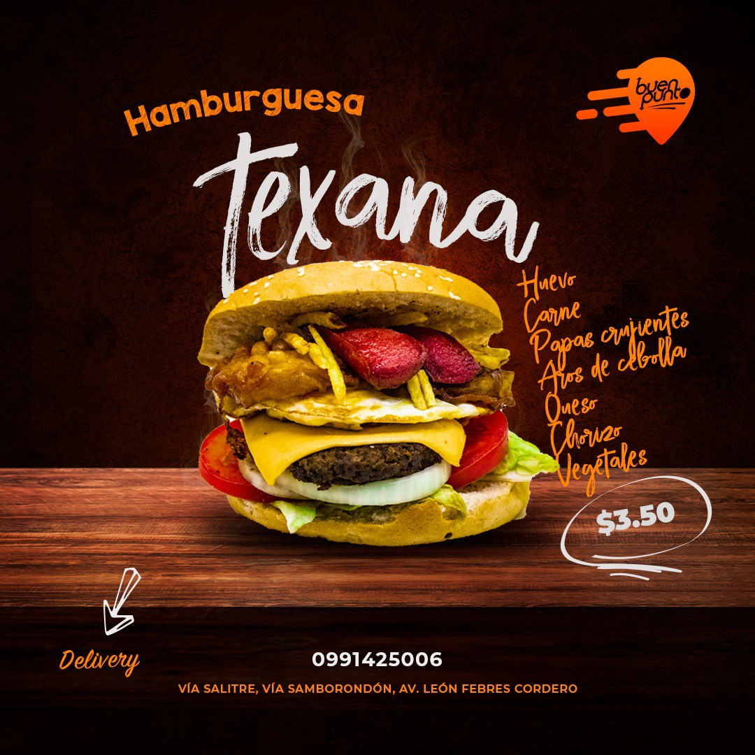 Excelente comida en tu lugar favorito hamburguesas, alitas bbq, bandejitas, hot dogs, papas fritas con tocino y queso cheddar 📱0991425006 #viasamborondon #viasambo #guayaquil #lapuntilla #islamocoli #dianaquintana #uees #alhambra #ecuador #dronegye #Samborondon #ViaSamborondon https://t.co/5QDYKRcAD3