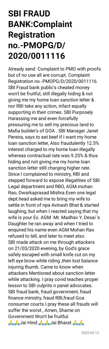 #SBI #StaySafe #bankfrauds #rbigovernor #RBI #SBIChairmam #BankSafe #LakeB2B #MinistryOfFinance #HomeMinistry #Twitter #PMOfIndia #CAG #indiafirst #instagram #seo #facebook #like #instagood #love #digital #social #media #Goa #Govt #India #LinkedIn #bank #banks #india #economy https://t.co/dNGVCkjvih https://t.co/zoYrqbjISa