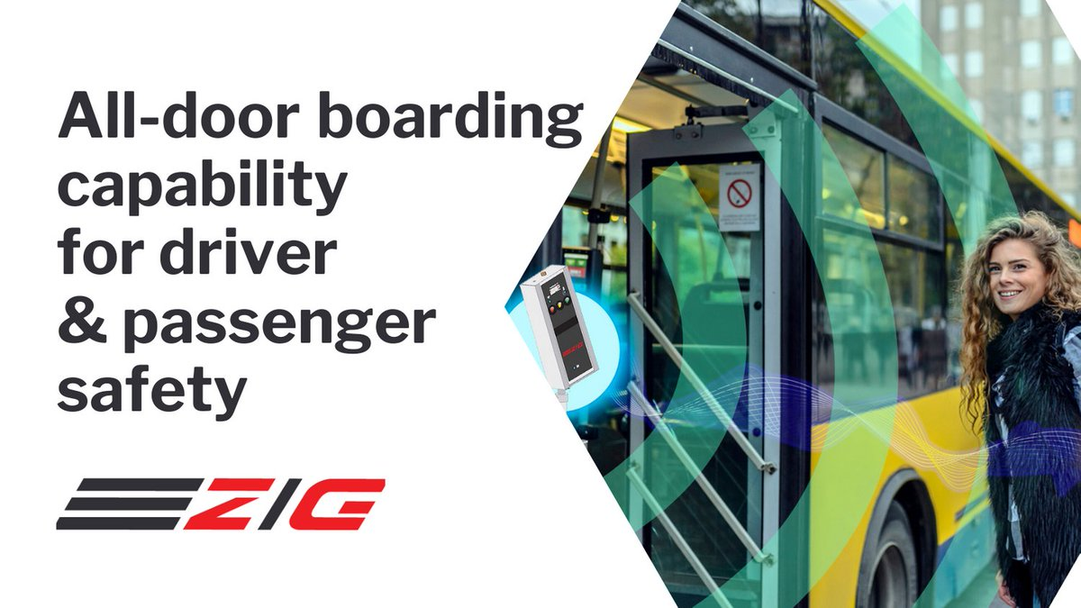 [Smart solutions] #ZIGTransit #touchless features improves #safety  of passengers and drivers. #publictransportation #publictransit #publictransport  #keeptransitmoving #contactless #alldoorboarding #mobileticketing #covid  😷 💡 https://t.co/PylBnL4BYs