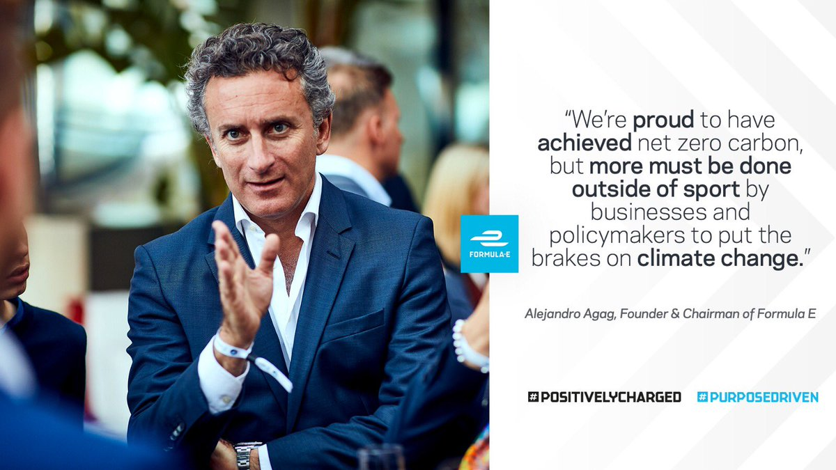 Our founder and chairman Alejandro Agag on what we've accomplished and how much more there is yet to achieve 🙌 #PositivelyCharged #PurposeDriven https://t.co/7IcnXsAgpz