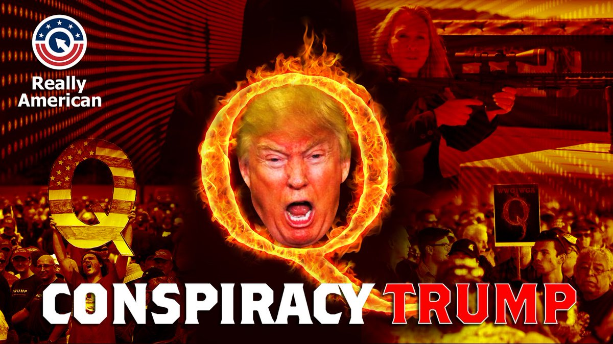 Replying to @ReallyAmerican1: Trumps fanning of Conspiracy theories is largely responsible for how we got here today.