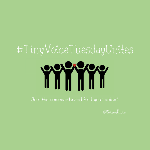 Welcome to #TinyVoiceTuesdayUnites. I am so happy you are here! To connect: - Reply to my tweet - introduce yourself & add #tinyvoicetuesdayunites - Like this tweet & retweet it - Now the important bit - Find Your Voice - chat, follow, connect. toriaclaire.wordpress.com/2020/03/29/twi…