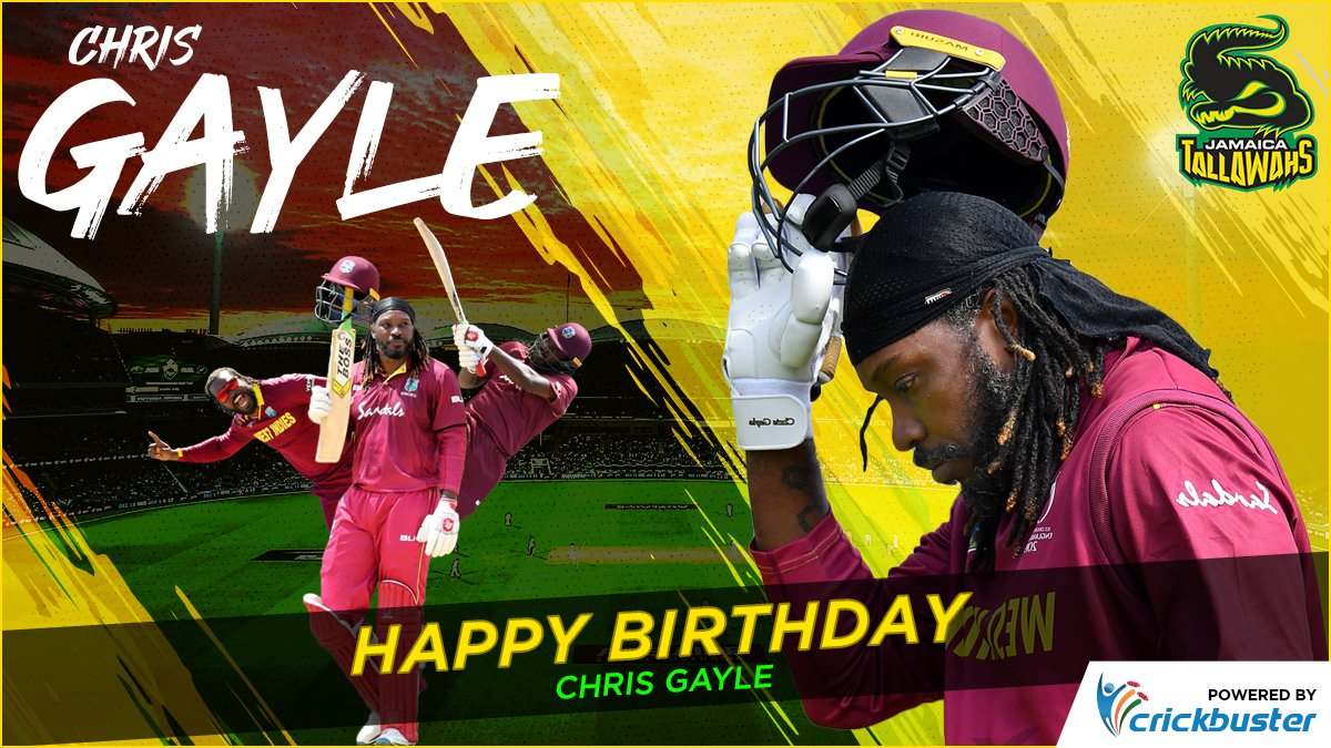 All Hail Gayle aka Universal Boss ! 👑 Master of the Thundering Gaylestorm who tore the teams apart with his monstrous sixes. ⚡🌩️ Happy Birthday to @henrygayle🏏  #KXIP #RCB #Dream11IPL  #41ShadesOfGayle #crickbuster #YeApnaGameHai #SaddaPunjab #SaddeFans #FiWiTallawahs https://t.co/W5WdYf3ZYZ