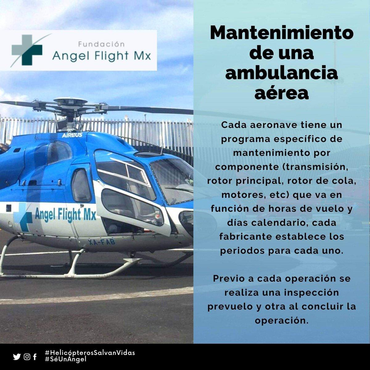 La seguridad en el traslado y salvar tu vida es lo más importante para nosotros, por ello mantenemos en constante mantenimiento nuestra aeronave para así lograr nuestro cometido.  #SéUnÁngel #HelicópterosSalvanVidas  #Helicóptero  #Cuídate https://t.co/USBideq8KG