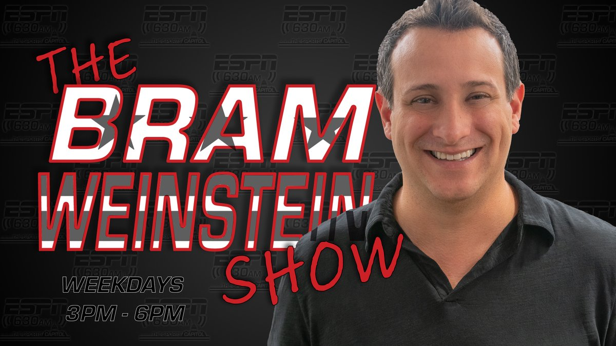 What did you think of yesterday's @WashingtonNFL game?  Recount all the action with the new voice of Washington Football broadcasts in the booth - @RealBramW - during The Bram Weinstein show - today from 3 p.m. to 6 p.m. https://t.co/a4j5D5StnF