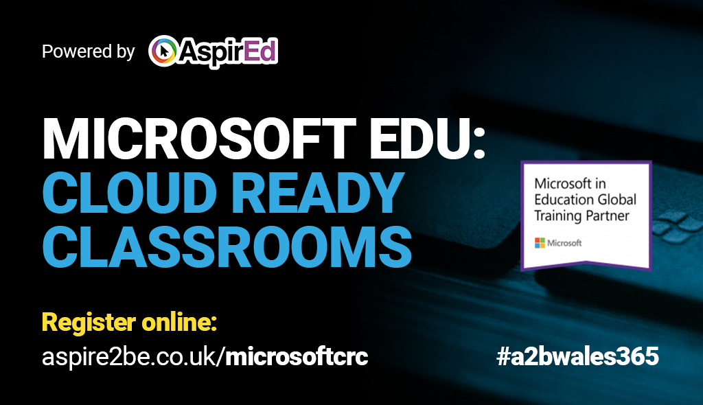 Join us for a series of online & exclusive #MicrosoftUK FREE events for educators across Wales, showcasing key #hybridlearning tools. Register at https://t.co/5zsrmxz7mW  #distancelearning #A2BWales365 #MicrosoftEDU #MIEExpert #MSFTEduChat #MicrosoftEDU #TweetMeetEN https://t.co/DHnMRJ8DpA