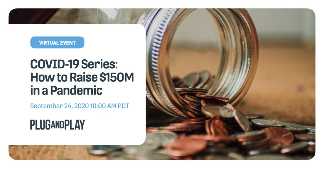 Don't miss this fireside chat between our CEO @SaeedAmidi and @AssafHippo of @hippo_insurance in a discussion about raising money during such an uncertain time. Join us on September 24th at 10am PDT! You won't want to miss it.  Register 👉 https://t.co/OGm58M1VWS https://t.co/ovX9GiId1R