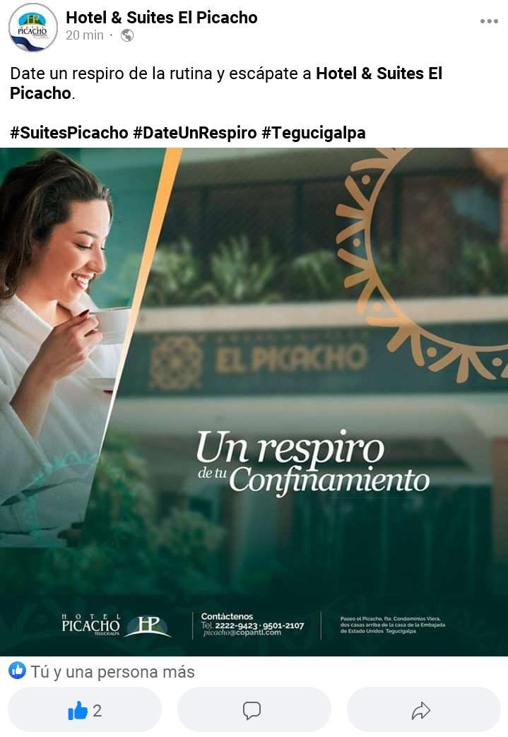 Visítanos también en nuestra página de #Facebook y dale like. #hotel #Tegucigalpa #Honduras libre de #COVID19 https://t.co/I7VHZLiNSJ
