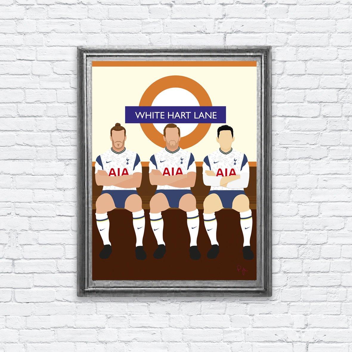 Front 3 ⚽ #Bale ⚽ #Kane ⚽ #Son #art #prints #coys #thfc #london #PremierLeague #football #whitehartlane #spurs #tottenham #tottenhamhotspur #etsyuk https://t.co/v53Zua3KBw https://t.co/riMu1g677l