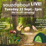 Image for the Tweet beginning: Soundabout Live! sessions are for