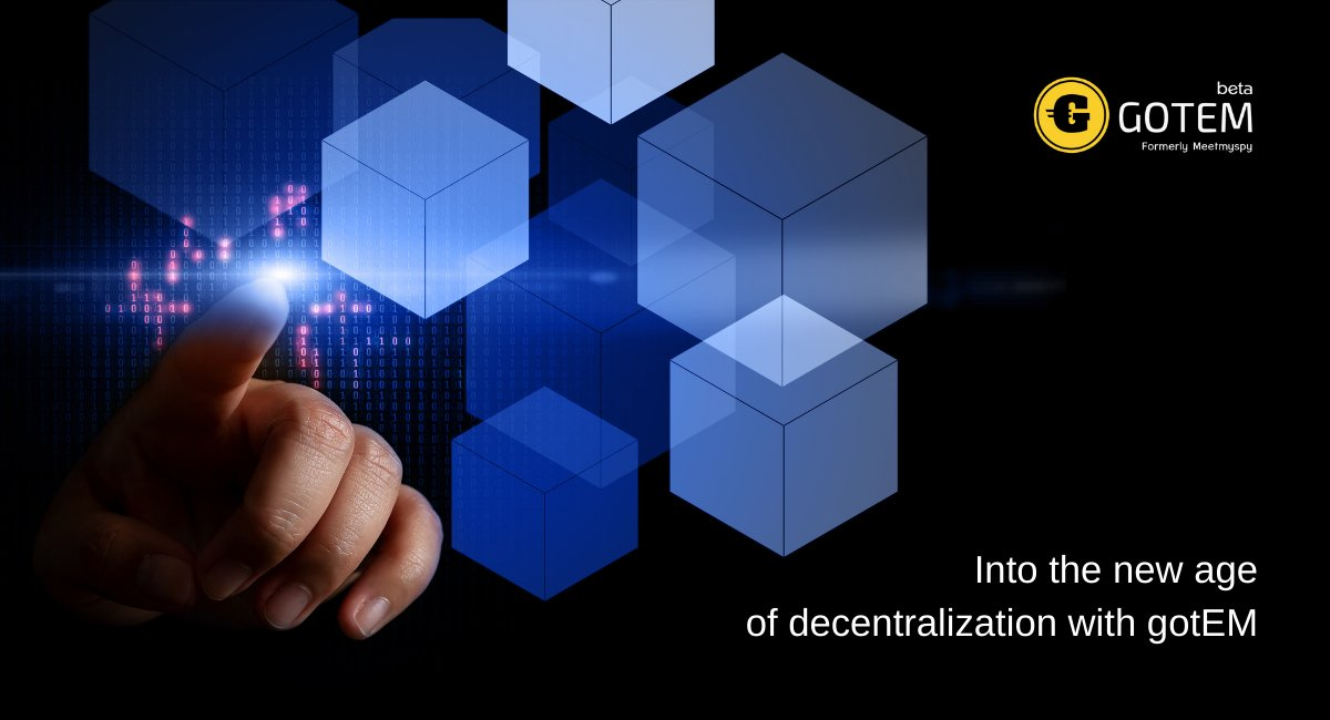 Hi! 🤗 Do you agree that #decentralization deepens #democracy and the development of a market #economy and helps to eliminate macroeconomic instability? Write your opinion in the comments!  Learn about the solutions of the decentralized #gotEM platform: https://t.co/tcGilgVVJ4 https://t.co/oeLNYDjmlS