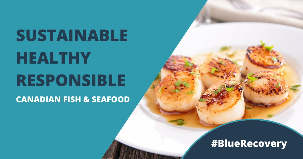 Fish and seafood is one of the healthiest, lowest carbon emissions, sustainable proteins available. Plus, it's delicious! #BlueRecovery #BlueEconomy #eatseafood2xweek https://t.co/31Z4n79myD