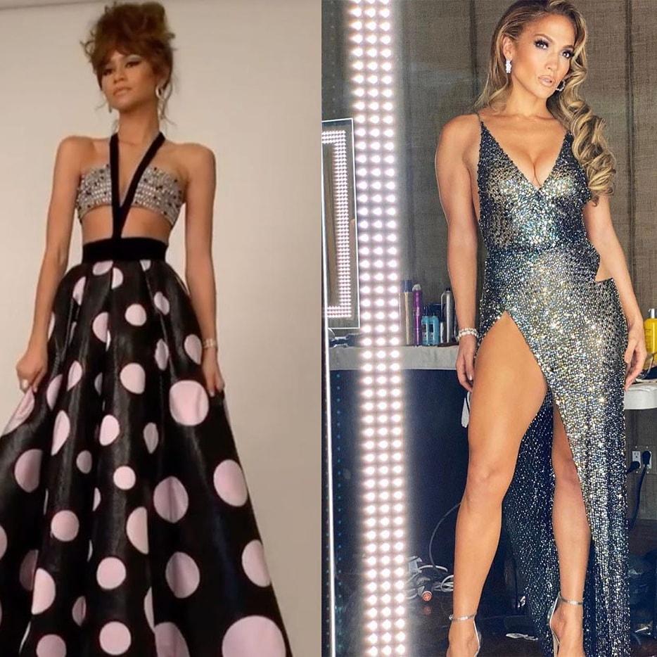 Does anybody else see what I see, @Zendaya & @JLo (Jennifer Lopez) look just alike #JenniferLopez #Zendaya #latinabeauty https://t.co/63fylz5TIm