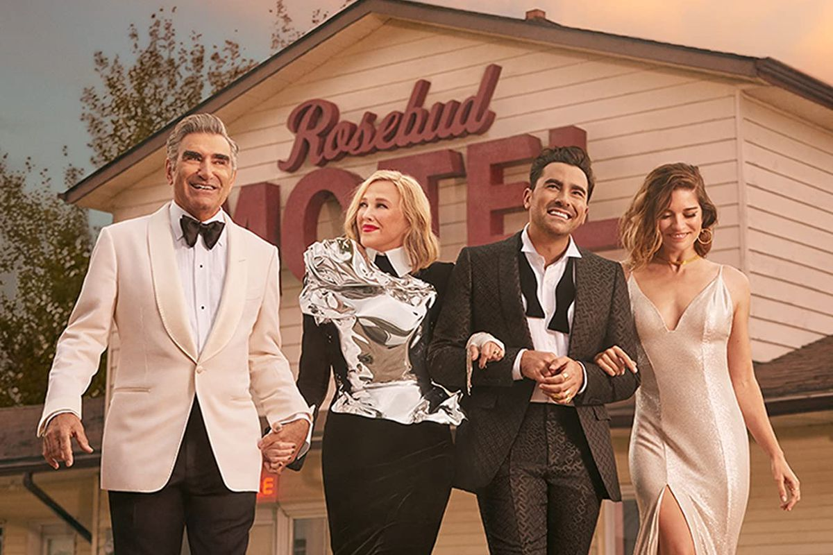 The history-making final season of Schitt's Creek will (finally) hit Netflix in the US and Canada on October 7.