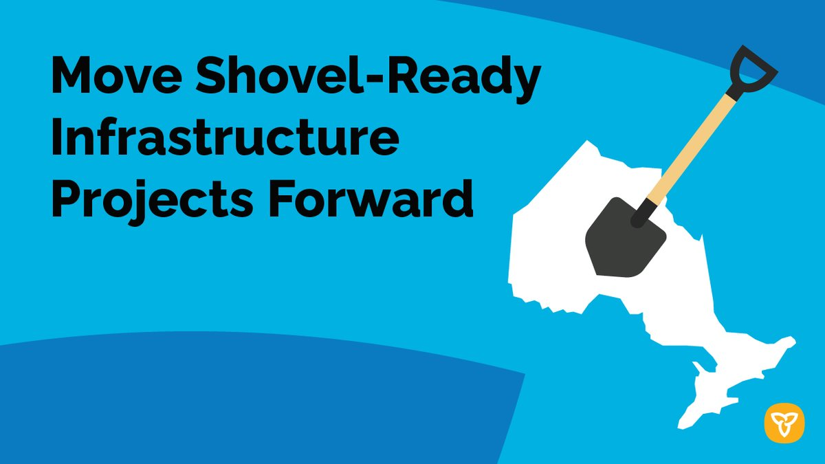 To support a strong recovery, Ontario joins provincial partners in calling on the federal government to end delays in approvals and invest an additional $10 billion per year over 10 years to move critical shovel-ready infrastructure projects forward. news.ontario.ca/en/release/584….
