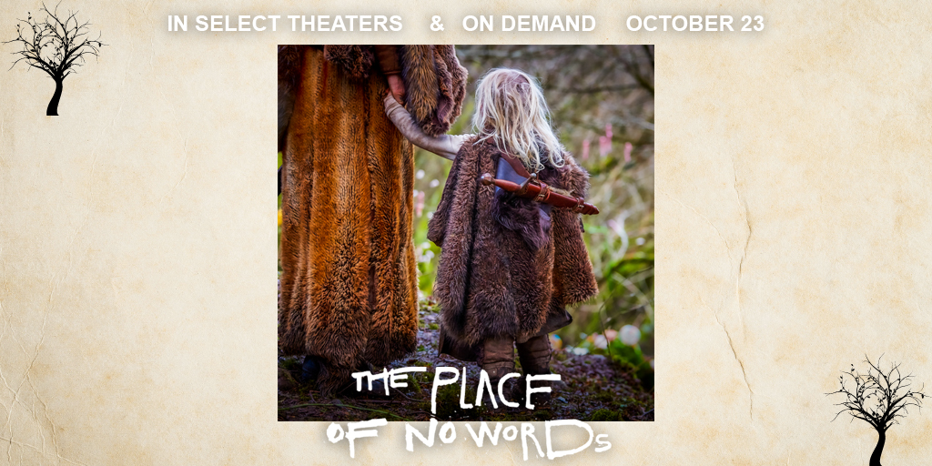 Hold on tight, you are about to go on an unforgettable journey. #ThePlaceOfNoWords comes out October 23 in select theaters & on demand.  @likemark  @teresapalmer  @GravitasVOD   Photo by: Gwynn Jones. https://t.co/LBFefC1QXc