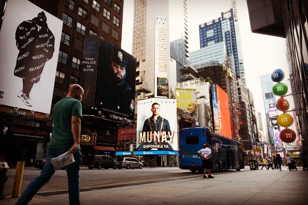 🎶 In old New York If I can make it there, I'll make it anywhere It's up to you, New York, New York 🏙 #MUNAY ❤️ #newyorkcity https://t.co/rzaxrl0WVH