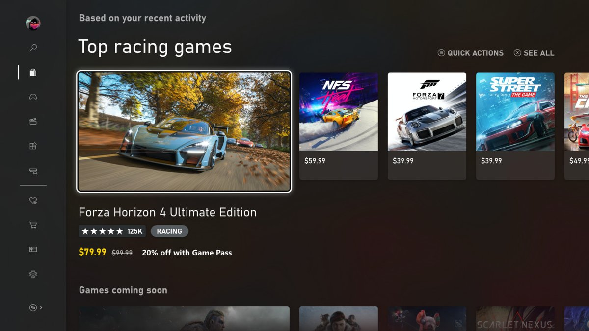 Microsoft's new digital Xbox store now available to all Xbox One owners