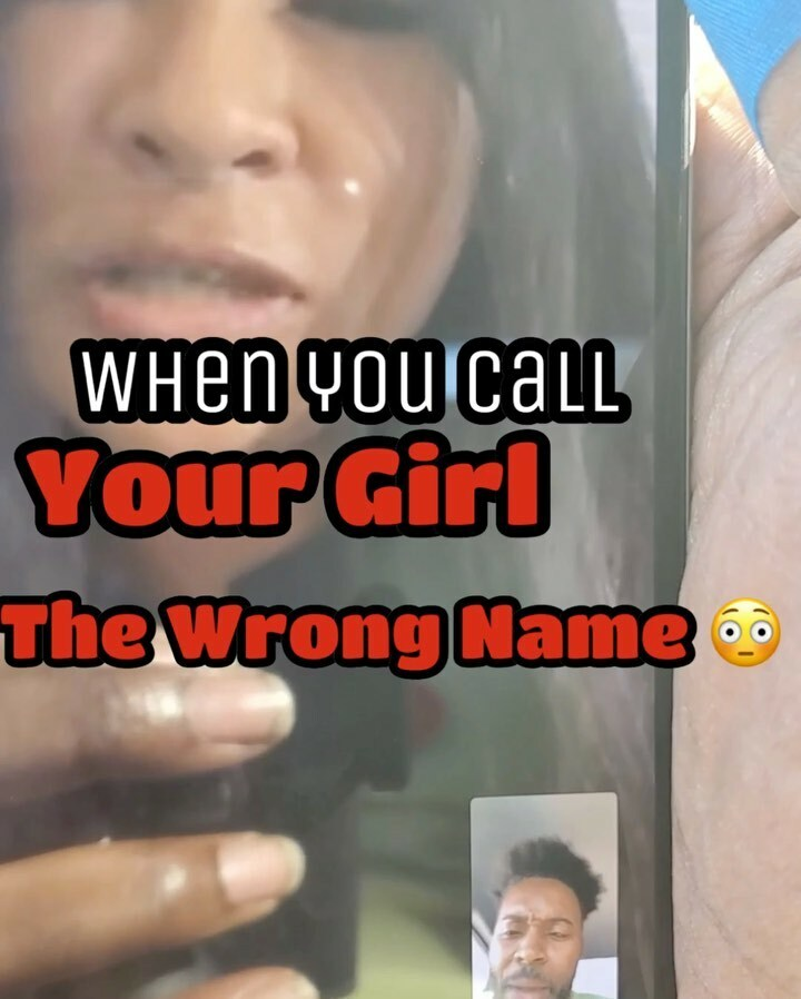 Never Call your Girl the Wrong Name🤧😭 . . @luvablerose  #explore #facetimeme #pressplay #tagafriend #facetime #girlfriends #wshh #daquan #comedyvideos #girlfriendsbelike #facetiming #boyfriend #iphone10 #laughing #iphonex #igcomedy #scoobyrawshow https://t.co/k0CFlqMHuX