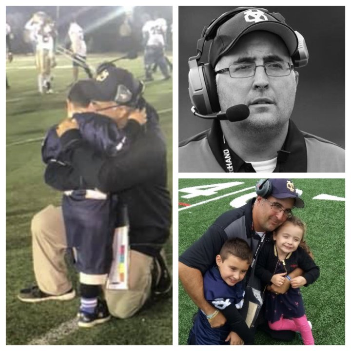 Congratulations to Coach Daniel DeMatteo of @YonkersForce in Yonkers, NY for being named our Week 1 winner of The New York Giants Lou Rettino HS Football Coach of the Week award presented by  @Gatorade! Click on the link to learn more about Coach DeMatteo! https://t.co/giseVm6mox https://t.co/S88TMShaeN