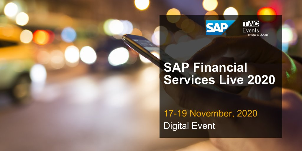 Interested to learn about how #insurance companies can drive innovation to help manage industry-specific challenges? Join the SAP Financial Services Live webcast on Nov 17-19, 2020 and gain more insight on this topic: https://t.co/CCarjsj36E https://t.co/Ty1k98BIq0