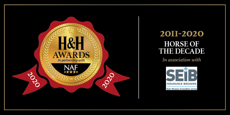 Don't delay in nominating your favourite equine star of the moment for the @SEIB_Insurance Horse of the Decade Award. #SEIBHere2Help #HHAwards20NAF