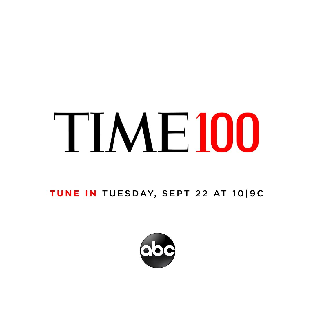 In just one day we're announcing who made the 2020 #TIME100 List. Tune in to ABC tomorrow at 10|9c to find out https://t.co/YN0Oklytz2