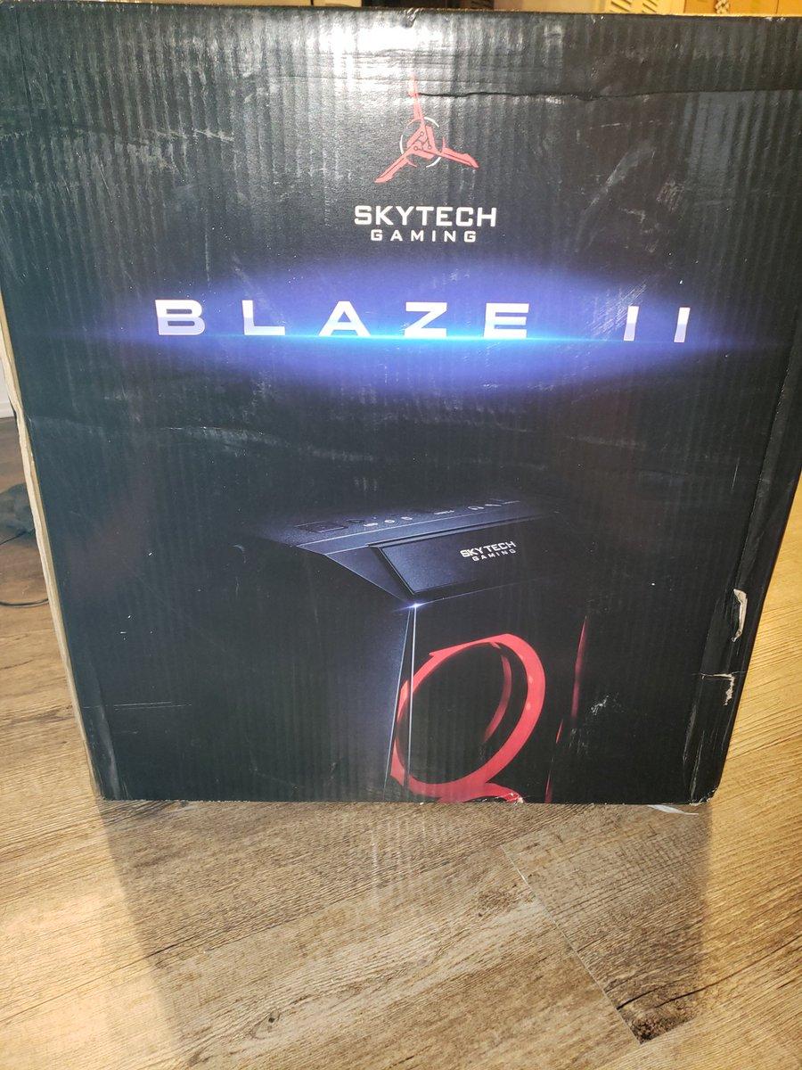 Its here!!! Now let the fun begin.. #SkyTechGaming #BlazeII #Blaze2
