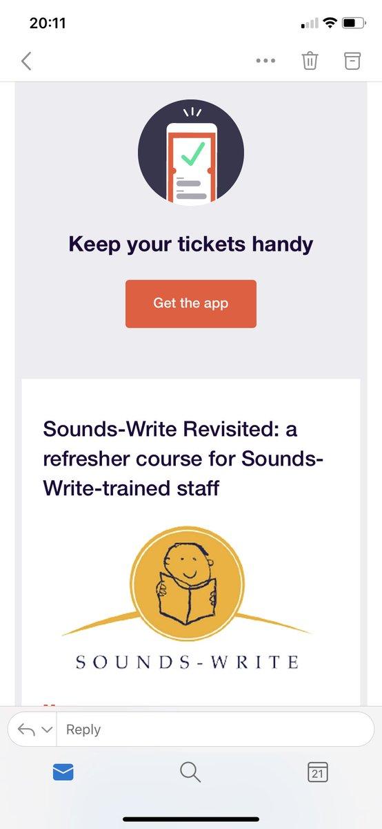 Looking forward to it! @TitaBeaven @SWLiteracy 🤓