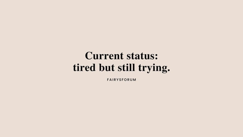 Tired? Yes. Giving up? Heck no! We love the keep trying attitude of this quote from @fairysforum. What are you trying for this week? Happy Monday!  #happymonday #sports #football #soccer #softball #baseball #lacrosse #basketball #volleyball #motivationmonday #practiceherousa https://t.co/PDFWsR0Cyz