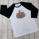 Image for the Tweet beginning: Black and White Raglan with