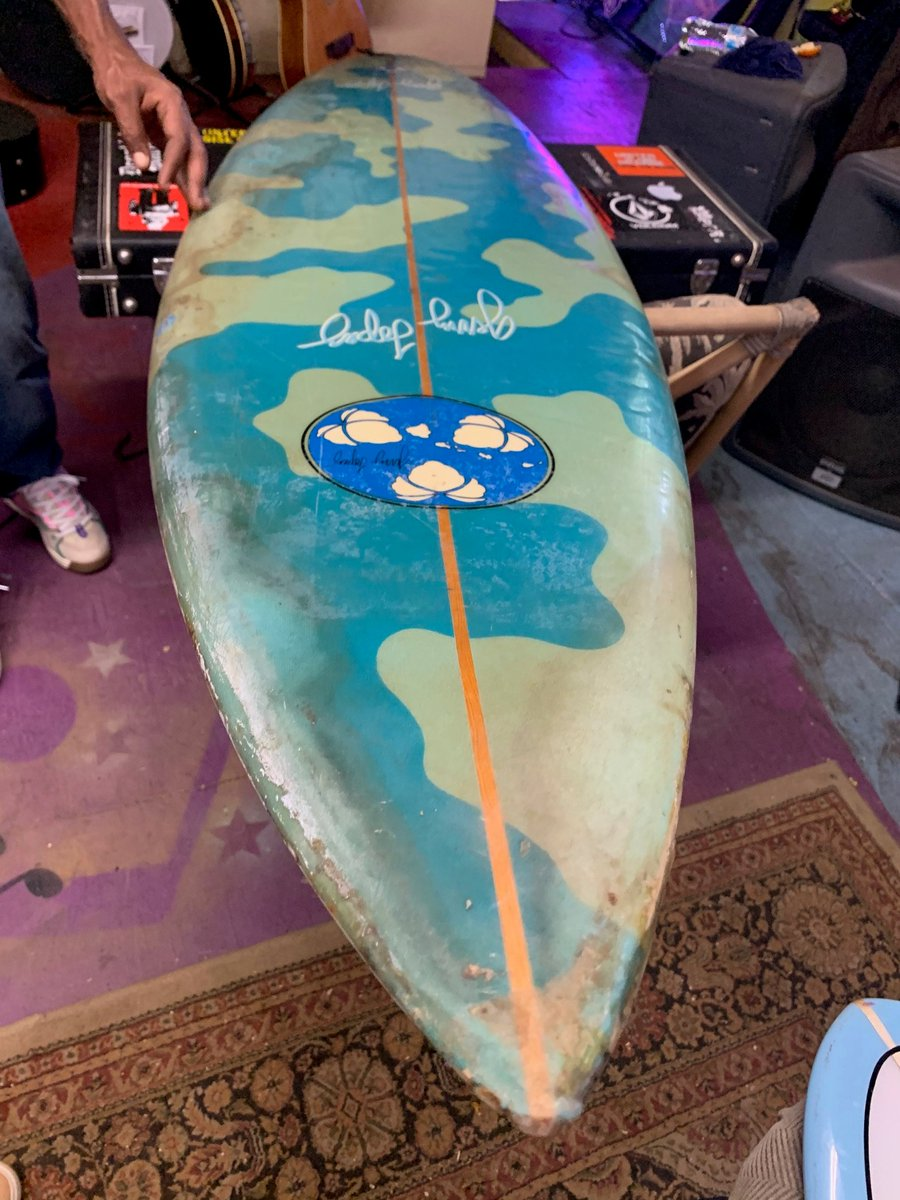 Gerry Lopez 7ft. Semi-Gun Surfboard 4-Sale $550 US, collector board, Artwork or Museum, Gerry Lopez born on Oahu, Hi. 1948 #808-667-7689 Shipping Avail: https://t.co/mjBv7nUook https://t.co/loAxj0bEzN #surfboardforsale #classicsurfboard #forsale #artwork #surf #maui #gerrylopez https://t.co/2XLEVT5hYo