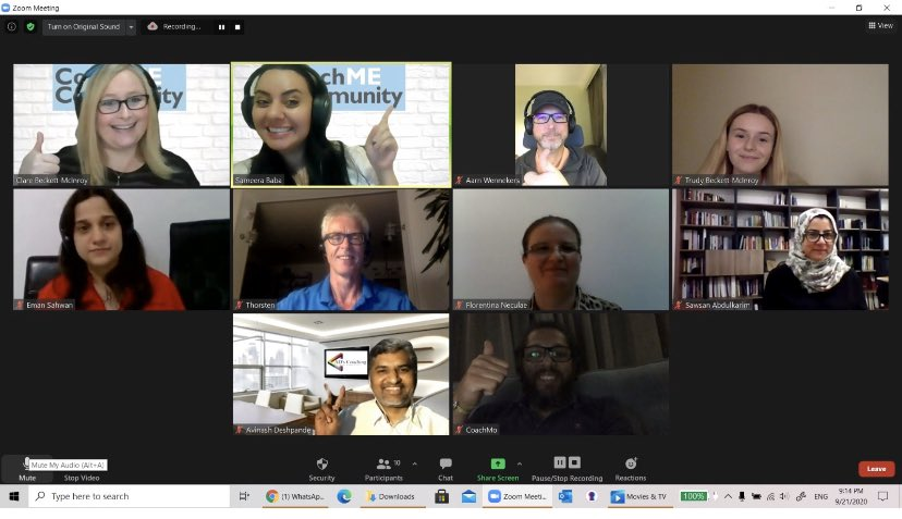 What a fabulous session this evening with people from #Qatar #UK #Germany #Bahrain #Iran #saudiarabia Learning how to use #TAP360 #TeamAdvanceProfle https://t.co/XXTnxe8fPq