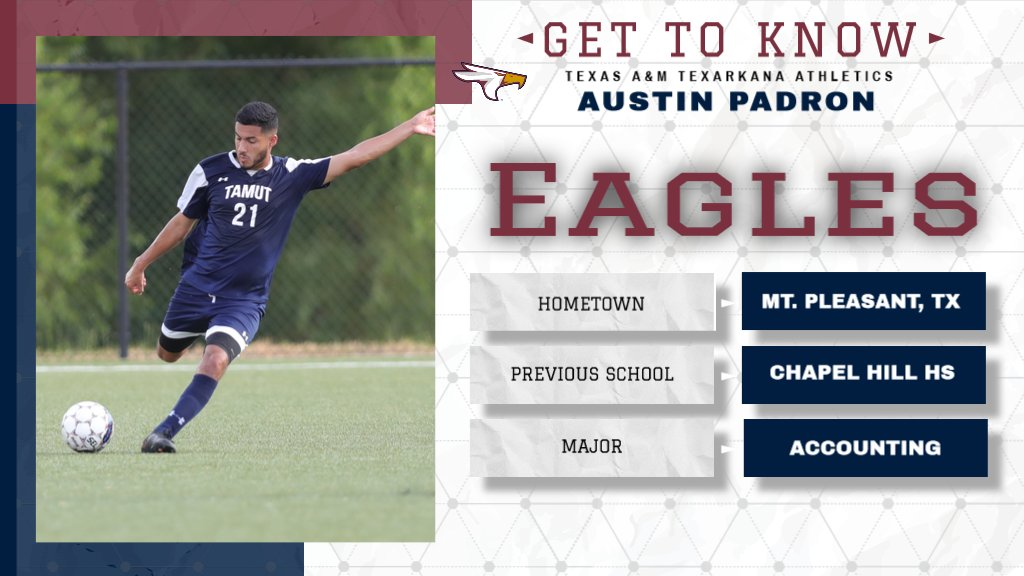 🦅Get To Know Eagle Athletics!!!🦅 . . . #tamut #tamuteagles #soccer #naia #texas #rrac #soarwithus https://t.co/5NB1VI946k