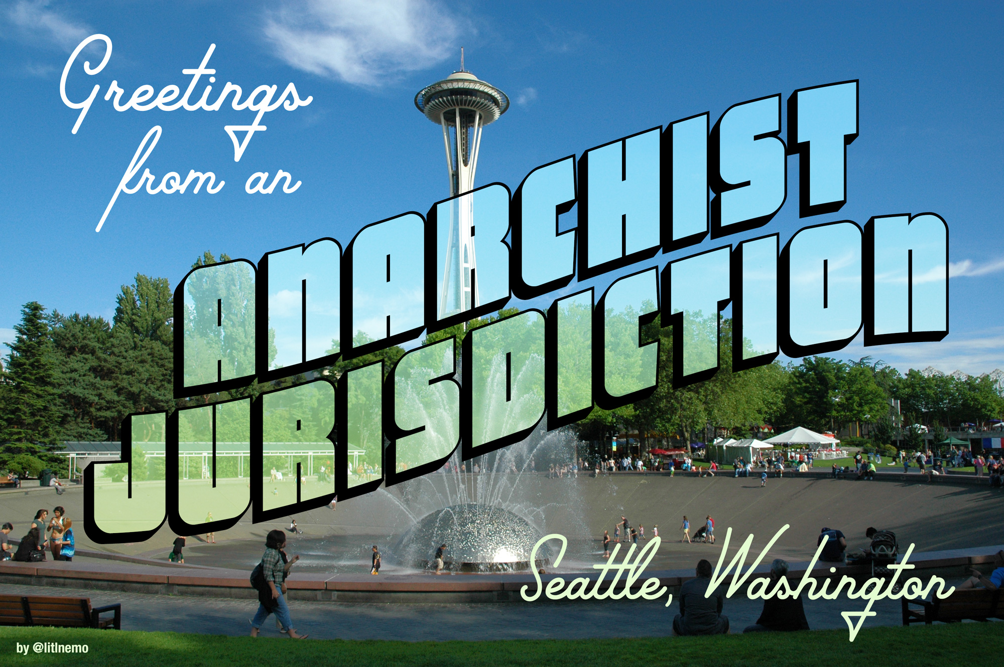 "✨🎸Wendi Dunlap 👩🏼‍🎤✨ on Twitter: ""A few years ago, my hometown was  called a ""socialist hellhole"" by Fox News. Now it's an ""anarchist  jurisdiction."" Keep up the good work, Seattleites! (I made"