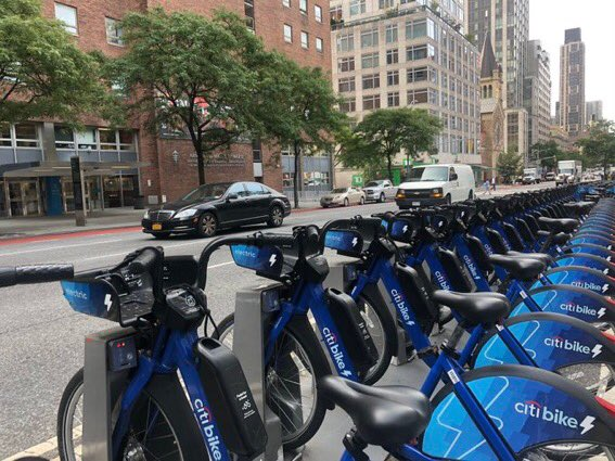 "News You Can Use #NYC: @CitiBikeNYC just tweeted they're ""dropping off ebikes throughout the city so more New Yorkers can get to where they need to go.""  They're asking where they should add 'em, so comment below & tag @CitiBikeNYC! #bikeshare #ebikes #publictransportation https://t.co/DTGWWhDmbz"