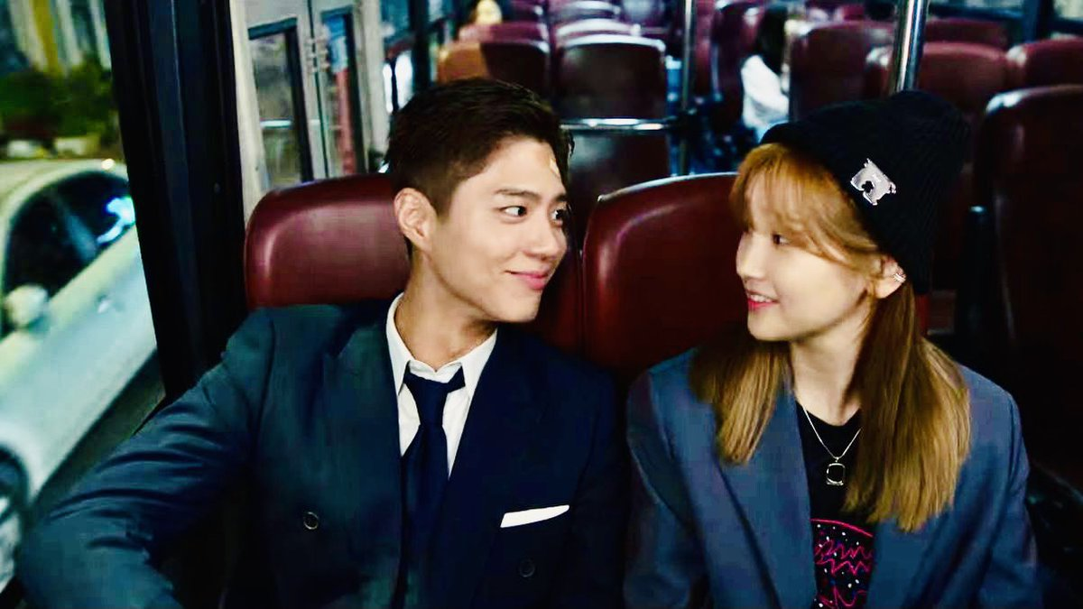 I definitely won't be getting second lead syndrome because these two are utterly cute, and watching their scenes is pure bliss. ^^❤️    #청춘기록 #RecordOfYouth #ParkSoDam #ParkBoGum https://t.co/ds0AemRndc