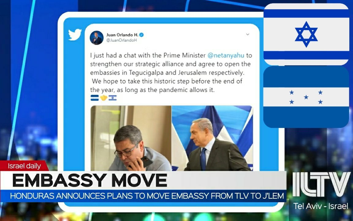 I just had a chat with the PM @netanyahu to strengthen our strategic alliance and agree to open the #embassies in #Tegucigalpa and #Jerusalem respectively. We hope to take this historic step before the end of the year, as long as the pandemic allows it.  https://t.co/evD9iTbYsL https://t.co/XYFy3Hcbo6