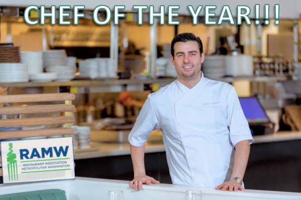 We are so honored that our Chef Partner David Deshaies was named Chef of the Year by the RAMW!  A terrific lineup of talent this year.  Thank you so much for the recognition!  #eatunconventional #chefoftheyear #touched #honored #unconventionaldiner #RAMMYS20 #ramwdc https://t.co/yNLLvysKiU