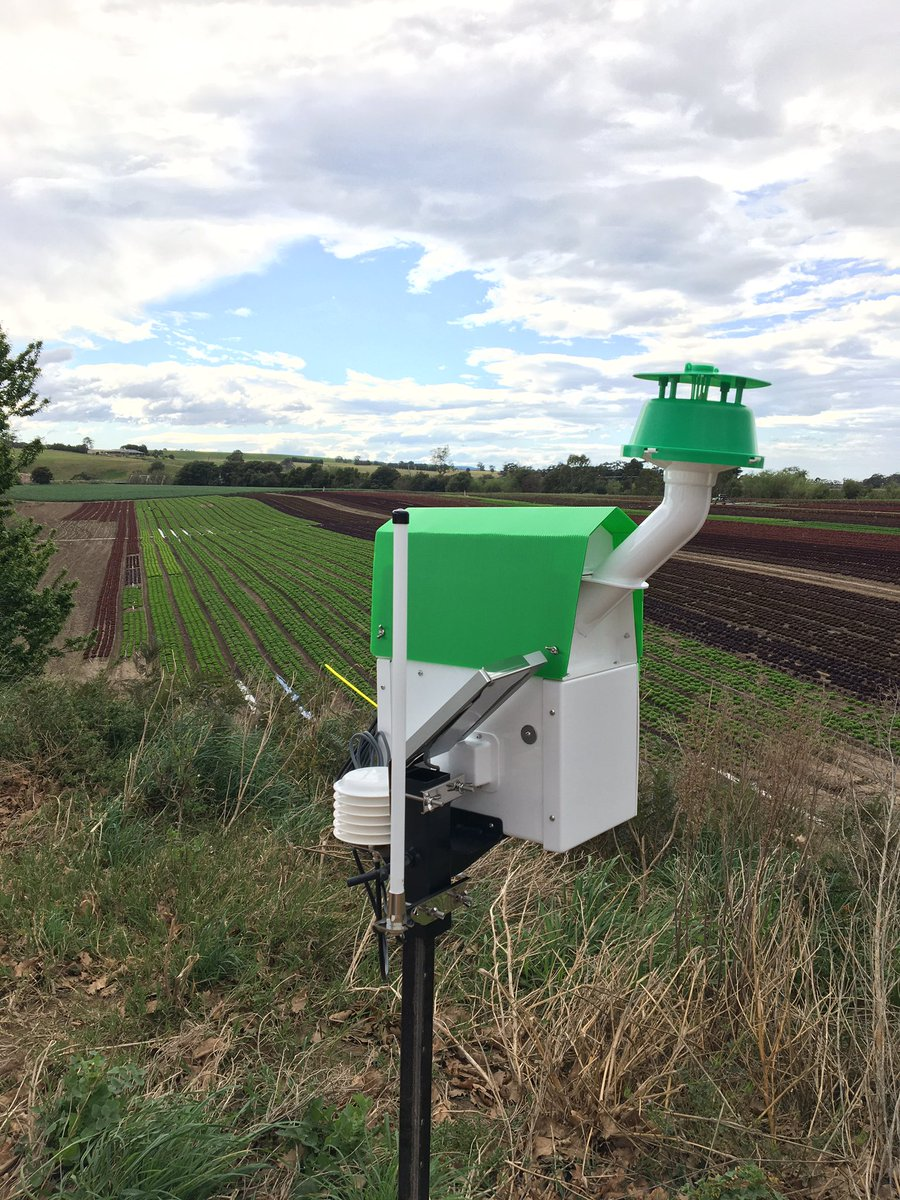 1 of 5 #trapview monitors going up in #Gippsland this week. These are specifically monitoring Heliothis & Diamond Back Moth #IPM #agtech @Adama_AU @EldersLimited #smartfarmer https://t.co/vpquKcw8Ja