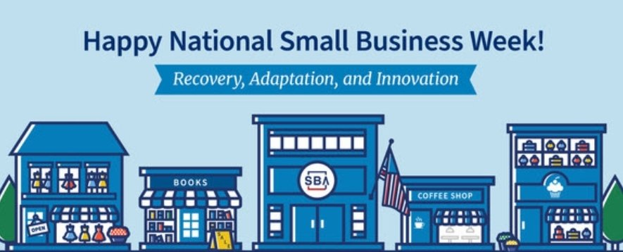 Happy National Small Business Week! https://t.co/RoJYkyU5WN
