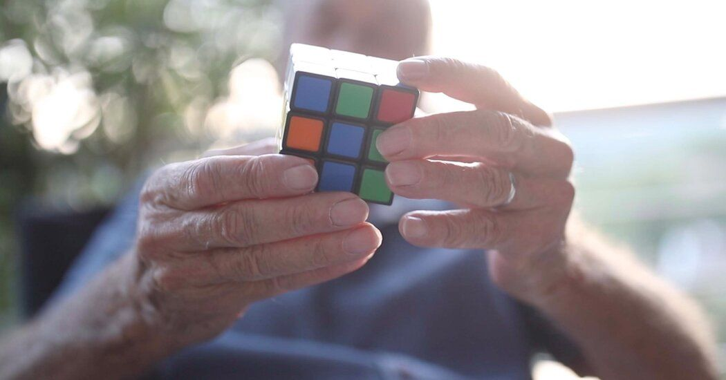 """He Invented the Rubik's Cube. He's Still Learning From It. nyti.ms/2FOoLy7 """"What really interested me was not the nature of the cube, but the nature of people, the relationship between people and the cube."""""""