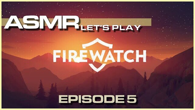 Woooh! New episode out! Check it out 🥴 also, I improved the video quality!  #gamingasmr #asmrgaming #ASMR   #Firewatch   Episode 5 https://t.co/QQ7TCa5x0x https://t.co/rzQh0VPZP3